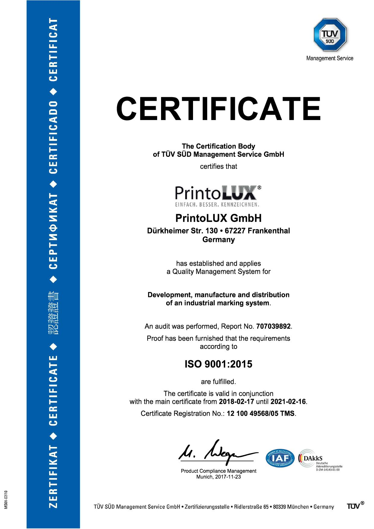 printolux-iso9001-certification