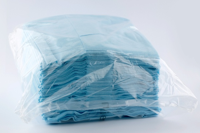 PLX Reinigungstücher blau